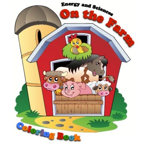 9781479265824: On the Farm Coloring Book