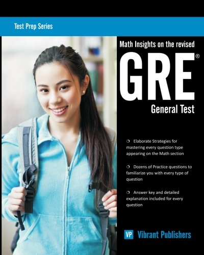 9781479266692: Math Insights on the Revised GRE General Test (Test Prep Series) (Volume 1)