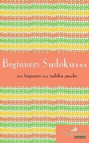 9781479267064: Beginners Sudoku 4x4: 100 beginners 4x4 sudoku puzzles