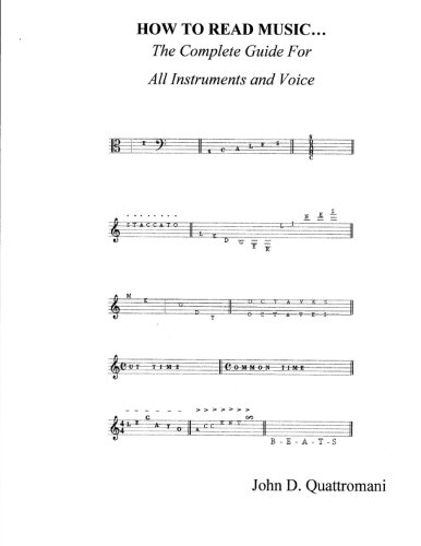9781479268115: HOW TO READ MUSIC: The Complete Guide For All Instruments And Voice