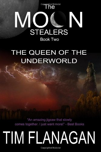 The Moon Stealers & The Queen Of The Underworld : Book 2 (SCARCE FIRST EDITION SIGNED BY THE AUTHOR)