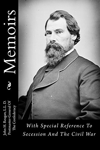 9781479283958: Memoirs: With Special Reference To Secession And The Civil War