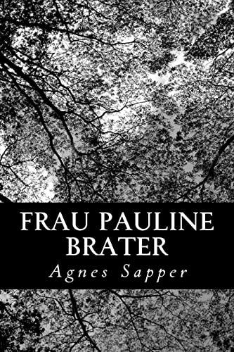9781479287994: Frau Pauline Brater