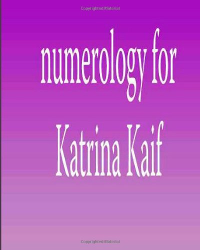 9781479292431: Numerology for Katrina Kaif