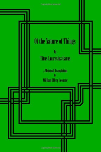 9781479317325: Of the Nature of Things