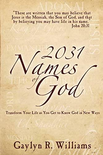 9781479319640: 2031 Names of God: In Alphabetical Order
