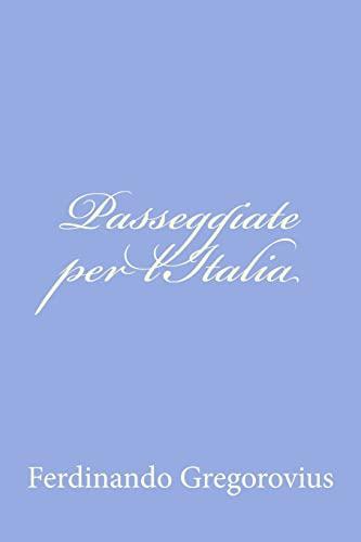9781479320448: Passeggiate Per L'italia