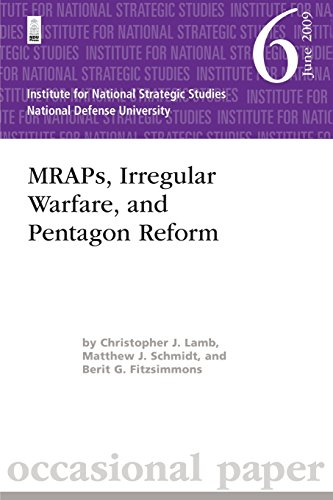 9781479330058: MRAPs, Irregular Warfare, and Pentagon Reform: Institute for National Strategic Studies Occasional Paper 6