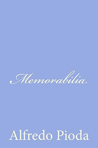 9781479374458: Memorabilia (Italian Edition)