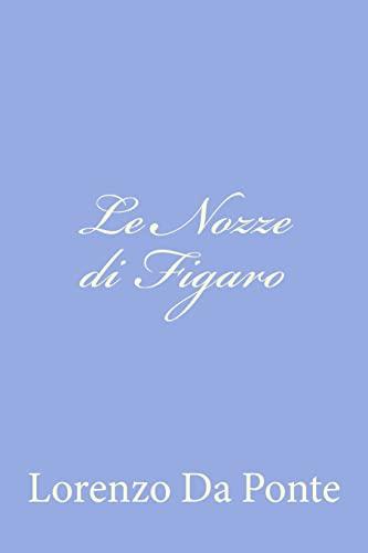 9781479389506: Le Nozze Di Figaro