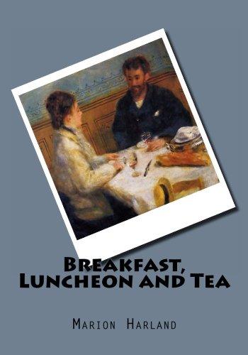 9781479390175: Breakfast, Luncheon and Tea