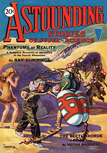 Astounding Stories of Super-Science, Vol. 1, No. 1 January, 1930: Victor Rousseau