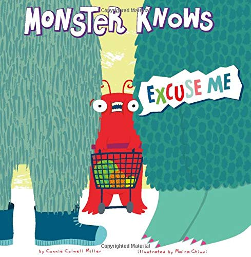 9781479529537: Monster Knows Excuse Me (Monster Knows Manners)