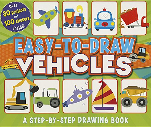 9781479555130: Easy-to-Draw Vehicles: A Step-by-Step Drawing Book (You Can Draw)