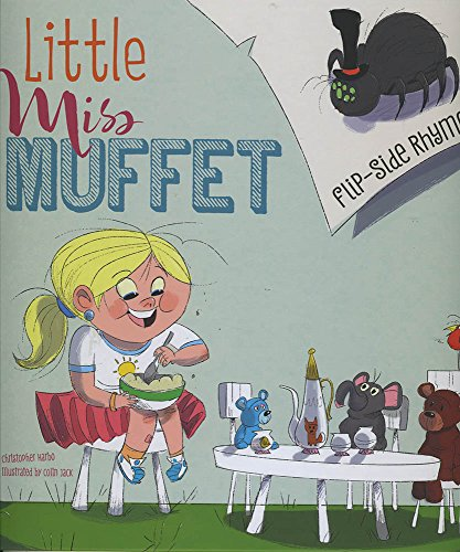 Little Miss Muffet Flip-Side Rhymes (Library Binding): Christopher Harbo