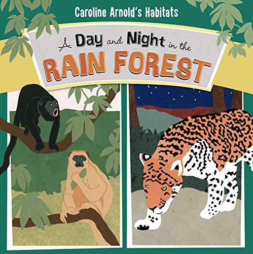 9781479560868: A Day and Night in the Rain Forest (Caroline Arnold's Habitats)