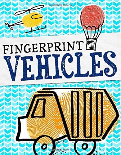 9781479586868: Fingerprint Vehicles (Fun with Fingerprints)