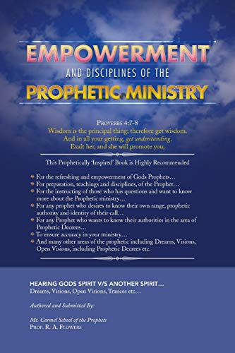 9781479723713: Empowerment and Disciplines of the Prophetic Ministry