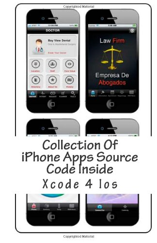 9781480010963: Collection Of iPhone App Source Code Inside