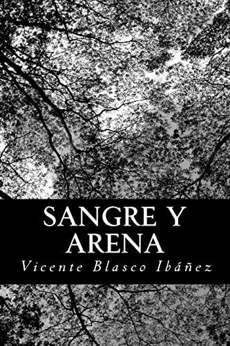 9781480012554: Sangre y arena (Spanish Edition)