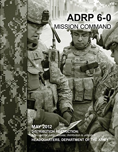 9781480031524: Mission Command (ADRP 6-0)