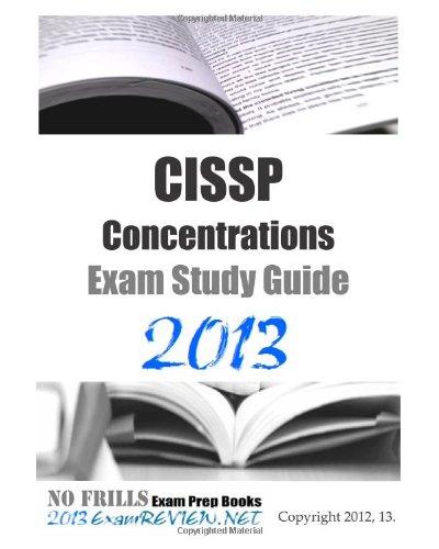 9781480042599: CISSP Concentrations Exam Study Guide 2013