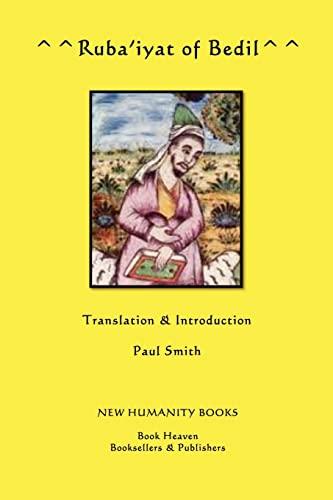 Ruba'iyat of Bedil: Smith, Paul