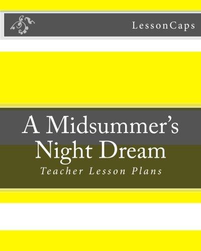 9781480056435: A Midsummer's Night Dream: Teacher Lesson Plans