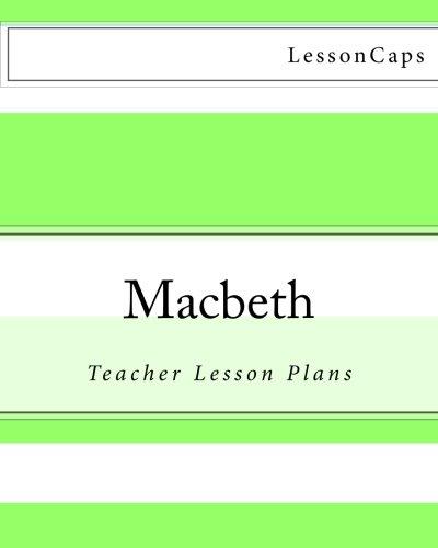 9781480056596: Macbeth: Teacher Lesson Plans