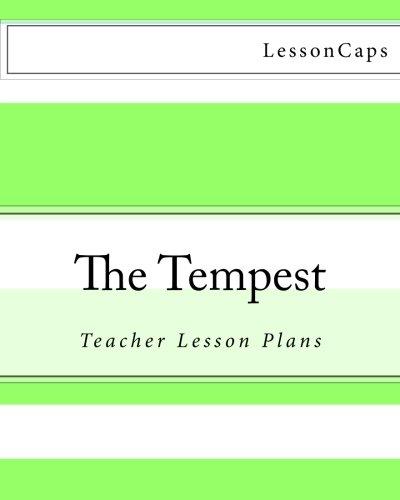 9781480056787: The Tempest: Teacher Lesson Plans