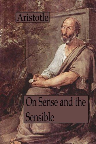 9781480091221: On Sense and the Sensible