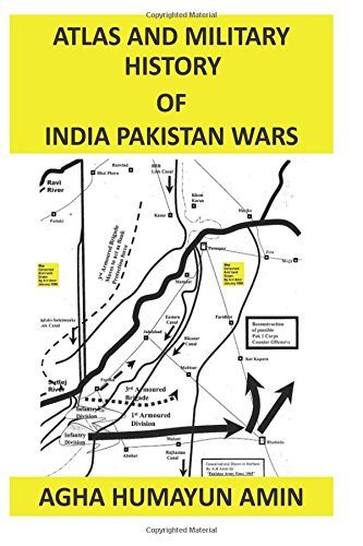 9781480102019: Atlas and Military History of India Pakistan Wars (Volume 1)