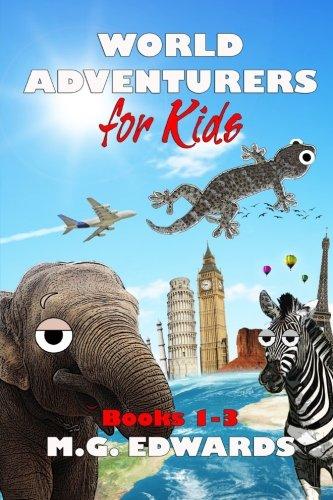 9781480122116: World Adventurers for Kids (vols. 1-3)