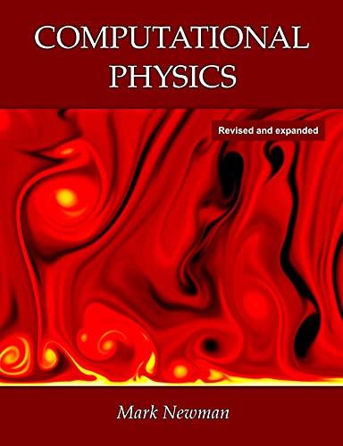 Computational Physics: Newman, Mark