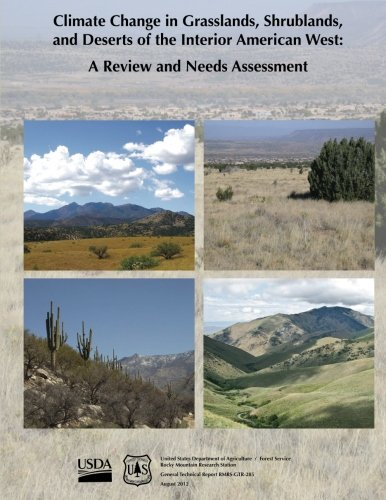9781480146600: Climate Change in Grasslands, Shrublands, and Deserts of the Interior American West: A Review and Needs Assessment