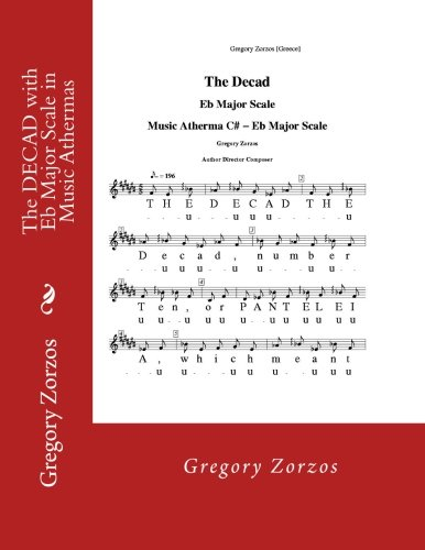 9781480149861: The DECAD with Eb Major Scale in Music Athermas