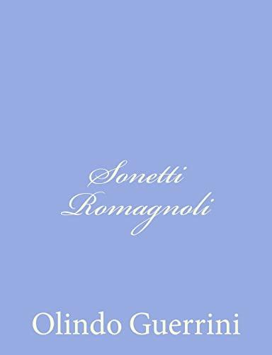 9781480155275: Sonetti Romagnoli (Italian Edition)