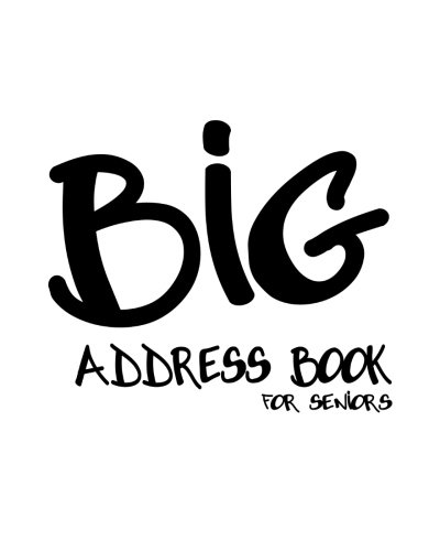 9781480178120: Big Address Book for Seniors