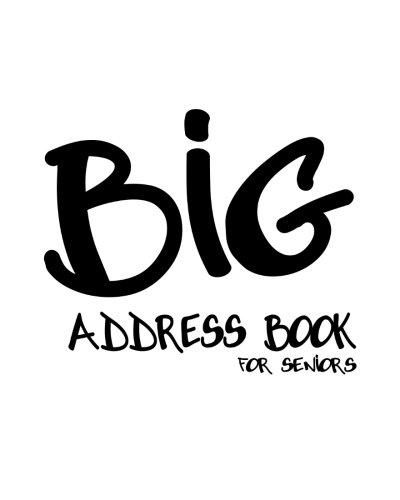 9781480178120: Big Address Book for Seniors