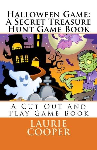 9781480186811: Halloween Game: A Secret Treasure Hunt Game Book: Volume 1