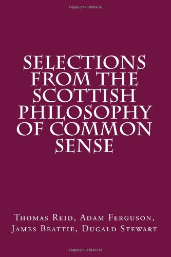 9781480187986: Selections from the Scottish Philosophy of Common Sense