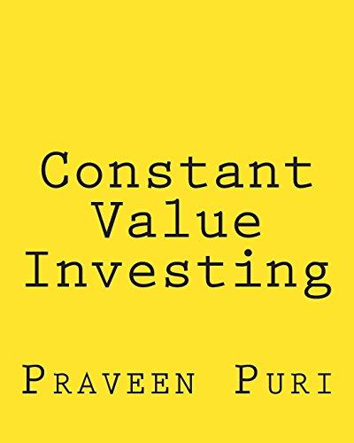 9781480188709: Constant Value Investing: The Simple, Elegant Trading Method