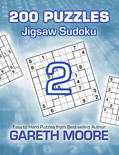9781480193253: Jigsaw Sudoku 2: 200 Puzzles