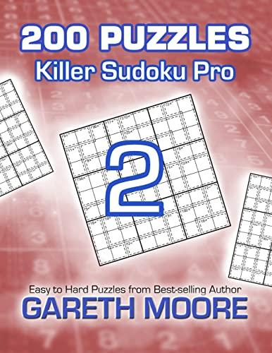 9781480210226: Killer Sudoku Pro 2: 200 Puzzles