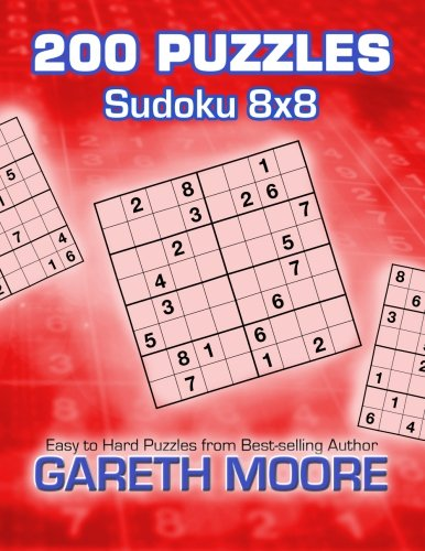Sudoku 8x8: 200 Puzzles (1480213241) by Gareth Moore