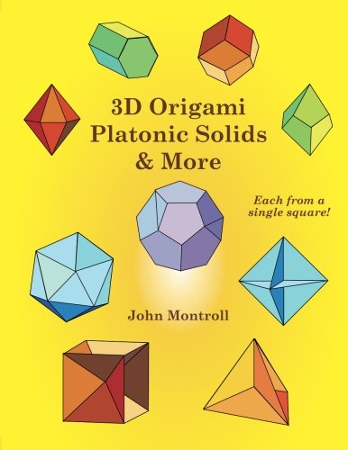 9781480217515: 3D Origami Platonic Solids & More