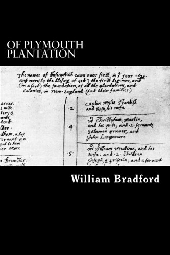 9781480222755: Of Plymouth Plantation