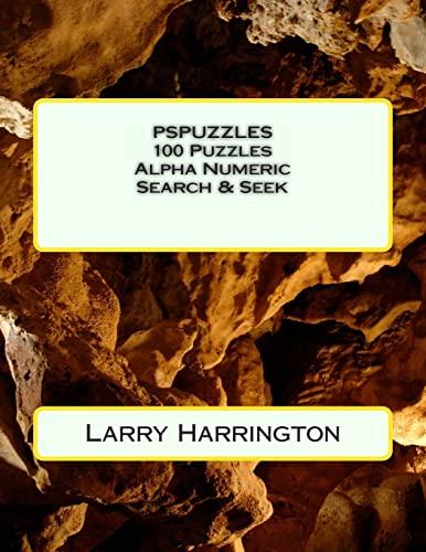 9781480225893: PSPUZZLES 100 Alpha Numeric-Search Puzzles