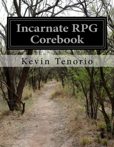 9781480226296: Incarnate RPG Corebook: a d100 roleplaying game system