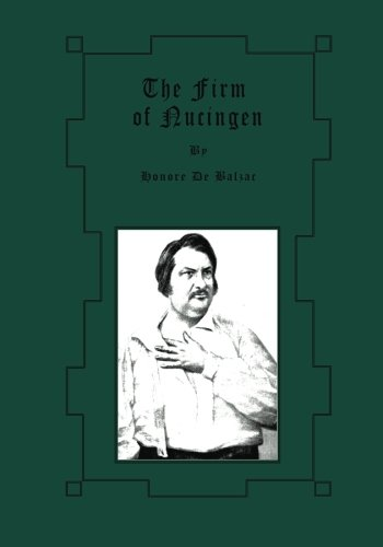 9781480227279: The Firm of Nucingen (Large Print)